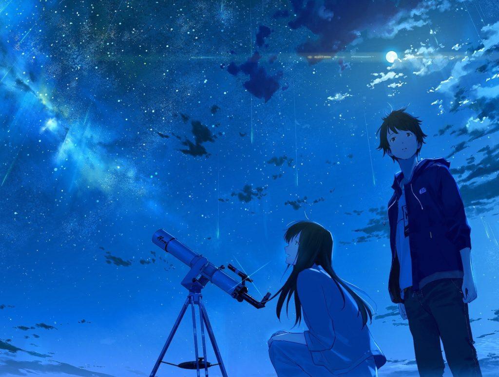 Влюбленные и телескоп